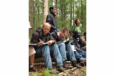 Bavarian forest excursion of the module ecosystem management 2011